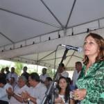 Prefeita Cida Furtado agradeceu as parcerias realizadas pelo gov erno estadual