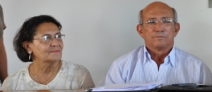 Ex-prefeito Otair Teodoro e a ex - primeira-dama Ana Aparecida Leite